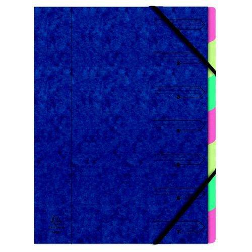 Europa A4 Blue 7-Part Organiser 5219Z