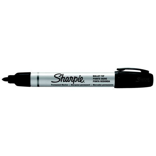 Sharpie Metal Permanent Marker Small Bullet Tip Black