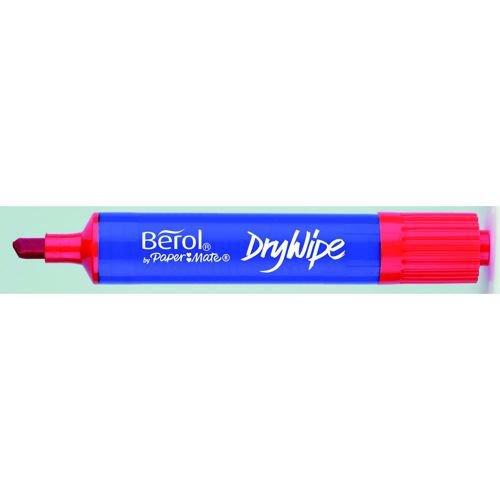 Berol Dry Wipe Marker Chisel Pk48 - Asstd