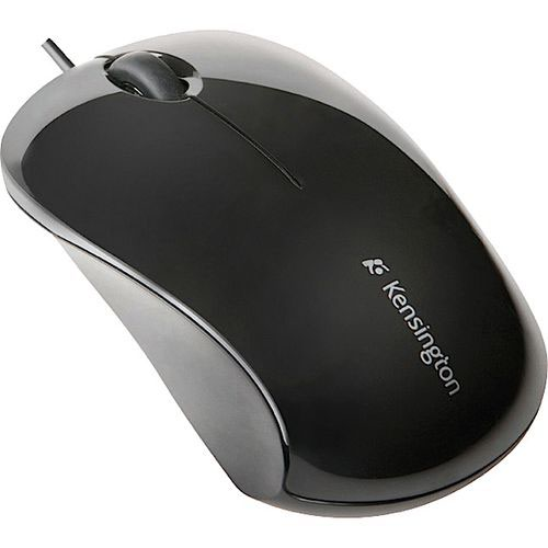 Kensington 3 Button Wired Optical Plug and Play Mouse Black K72110EU