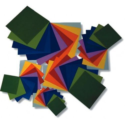 Craft Tissue Paper Square 50x50mm Assorted Pack 480