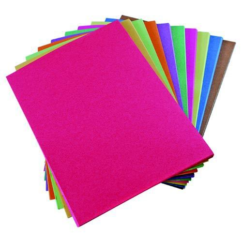 Assorted Sugar Paper 510x635 100g Pack 250