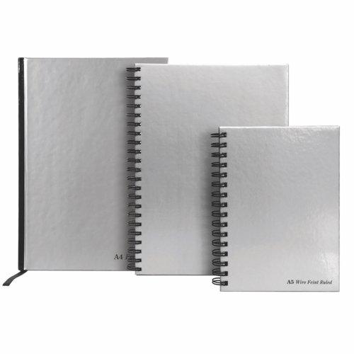 Pukka Pad Casebound Book A4 Silver