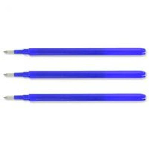 Pilot Blue Frixion Pro Erasable Rollerball Pen Refills (Pack of 3) 075300303