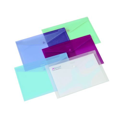 Rexel Active Folder Assorted Pack 5