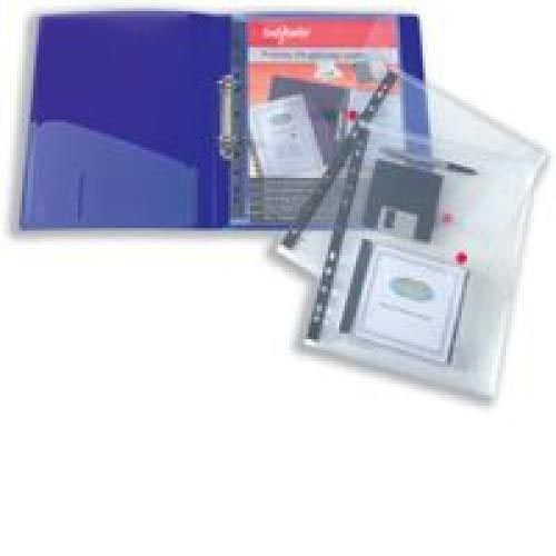 Snopake Ring Binder Wallet Clear Pk5