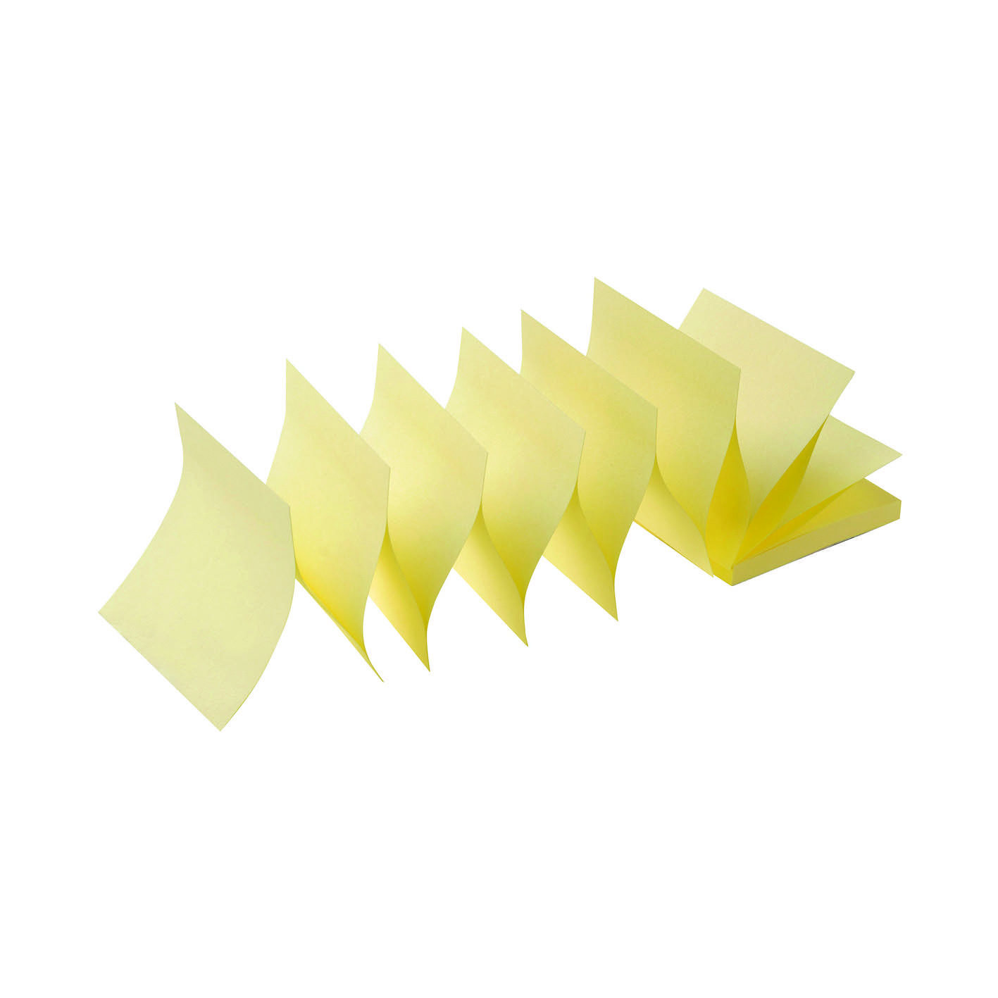 Initiative Sticky Z-Notes 76x76mm (3x3 Inches) Yellow