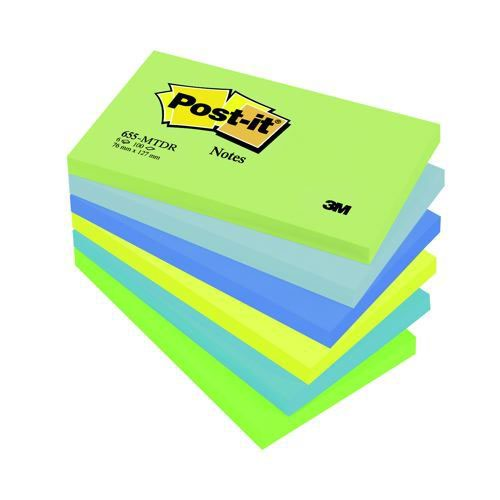 3M Post-It Notes 5x3 Dream Pack 6