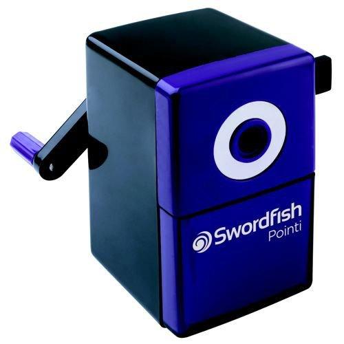 Swordfish Pointi Mechanical Pencil Sharpener Purple/Black