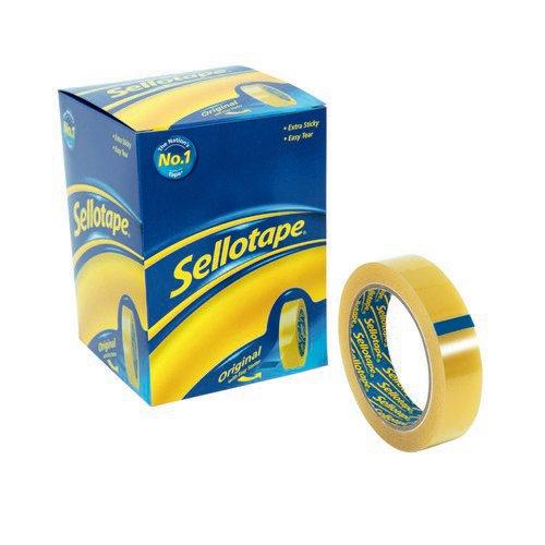 Sellotape Golden Tape Retail Pack 24mmx50m