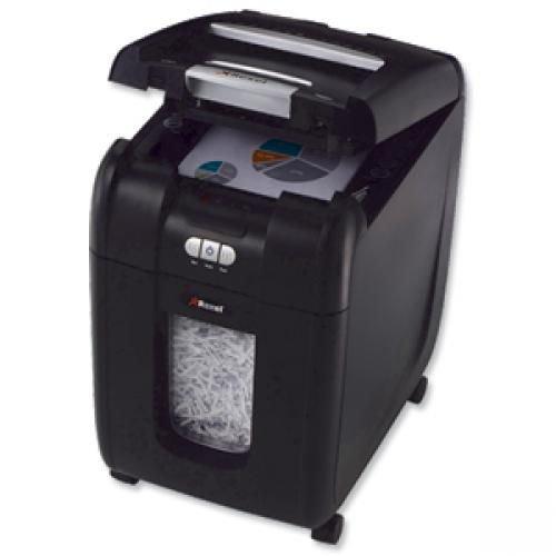 Rexel Auto+ 200X Cross Cut Shredder Black 2103175 Claim Cashback