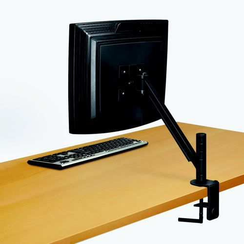 Fellowes Smart Suites Flat Panel Monitor Arm Black 8038201