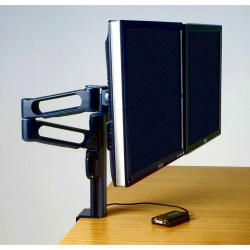 Kensington SmartFit Dual Monitor Arm K60900US