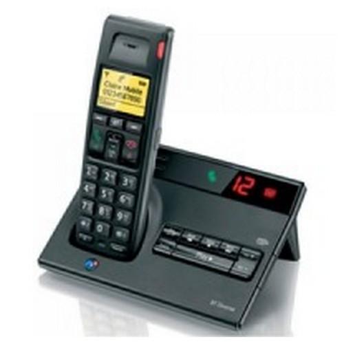 BT Diverse 7150 R DECT Cordless Phone With Answer Machine Black 060744
