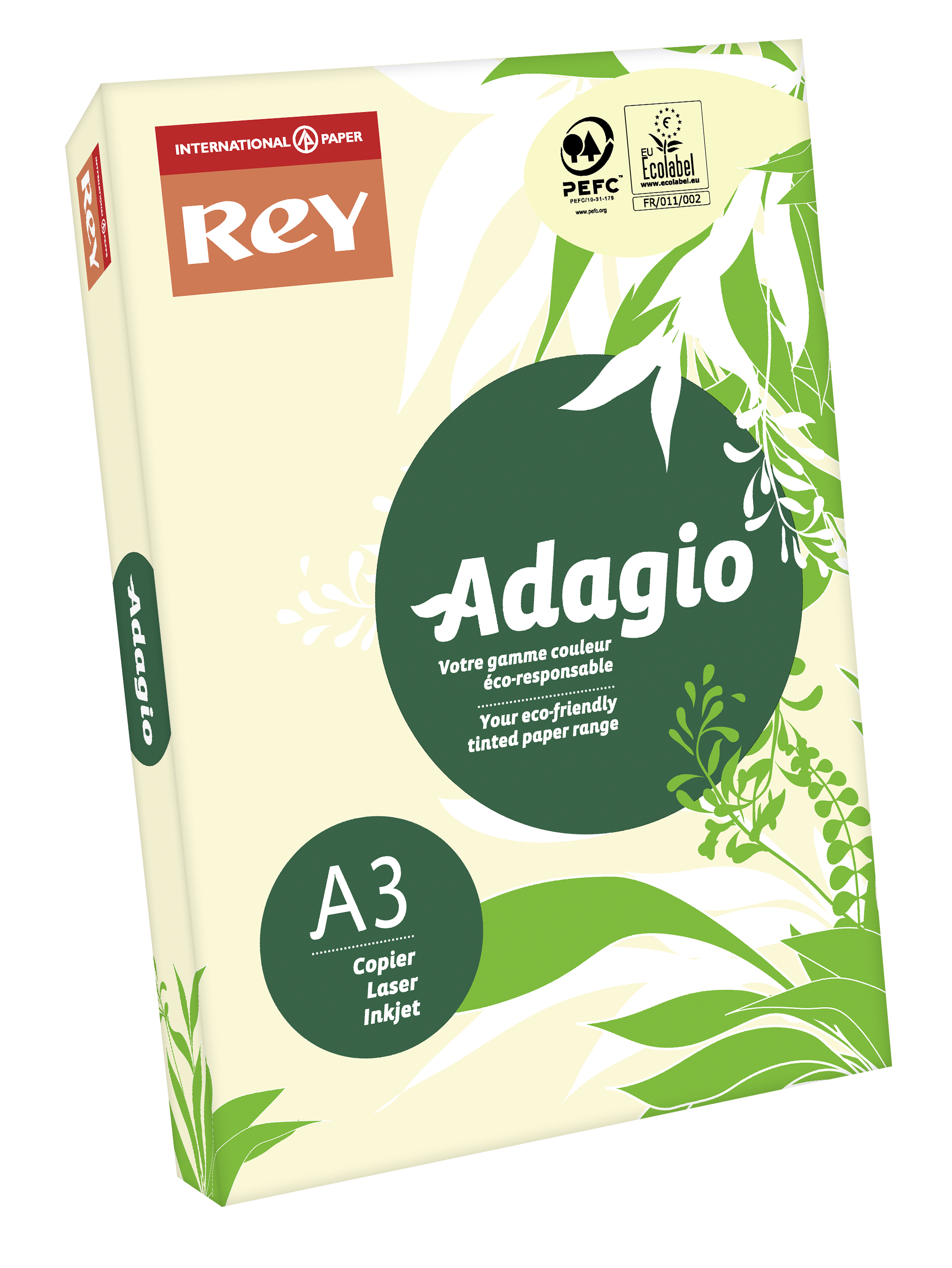 A3 Rey Adagio A3 Paper 80gsm Ivory RM500