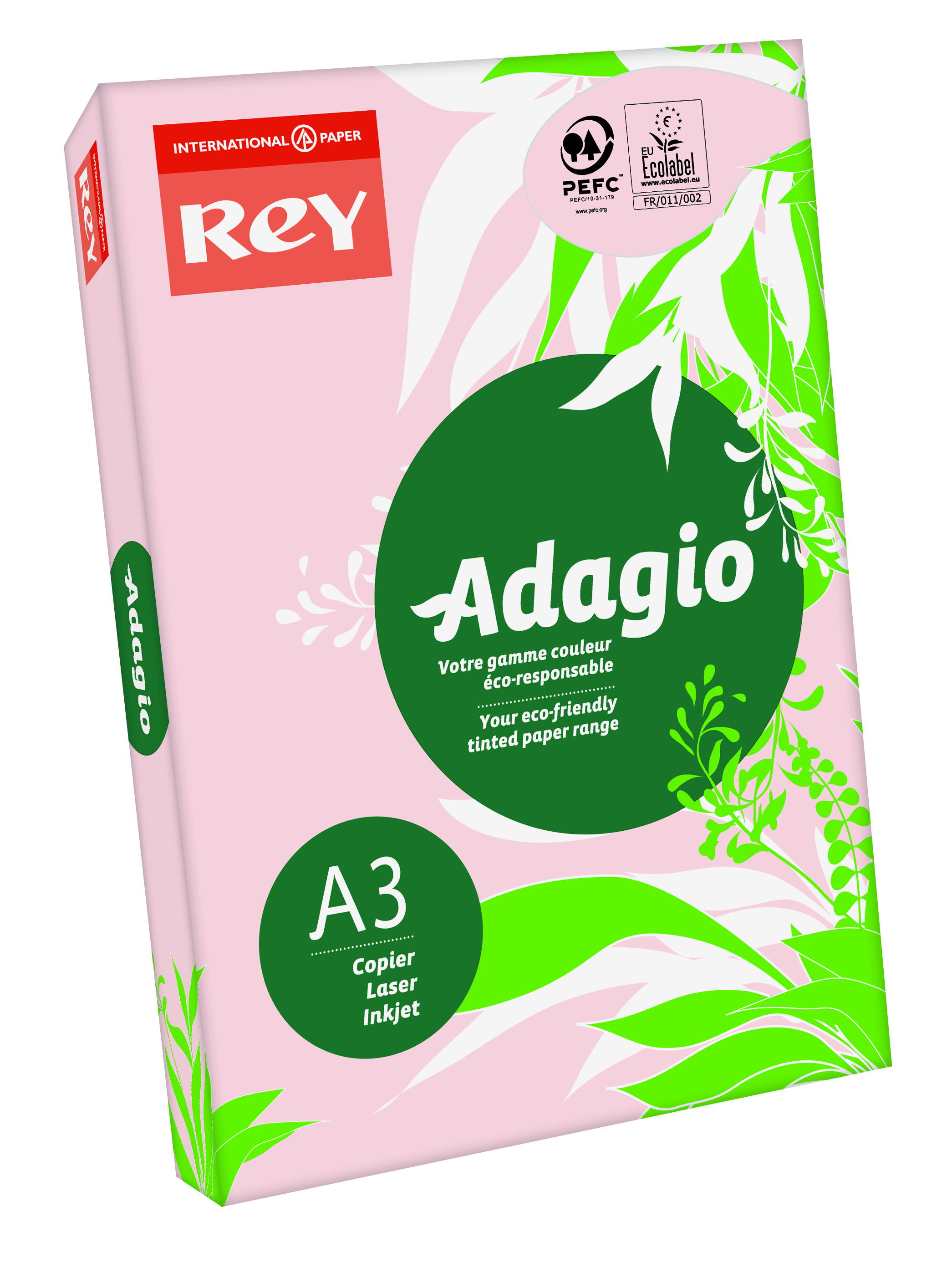 Rey Adagio A3 80gsm Pink RM500