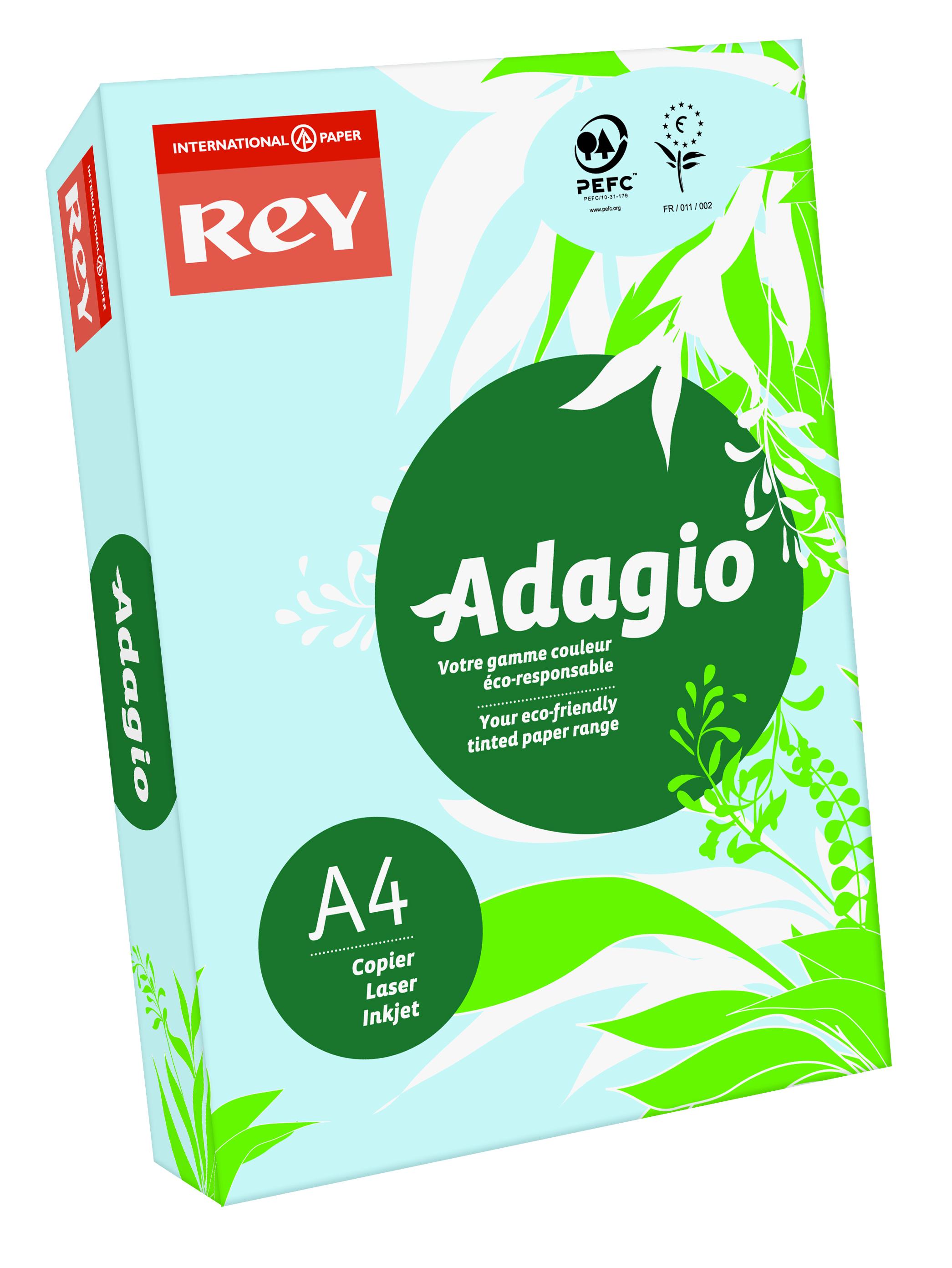 Rey Adagio A4 80gsm Blue RM500