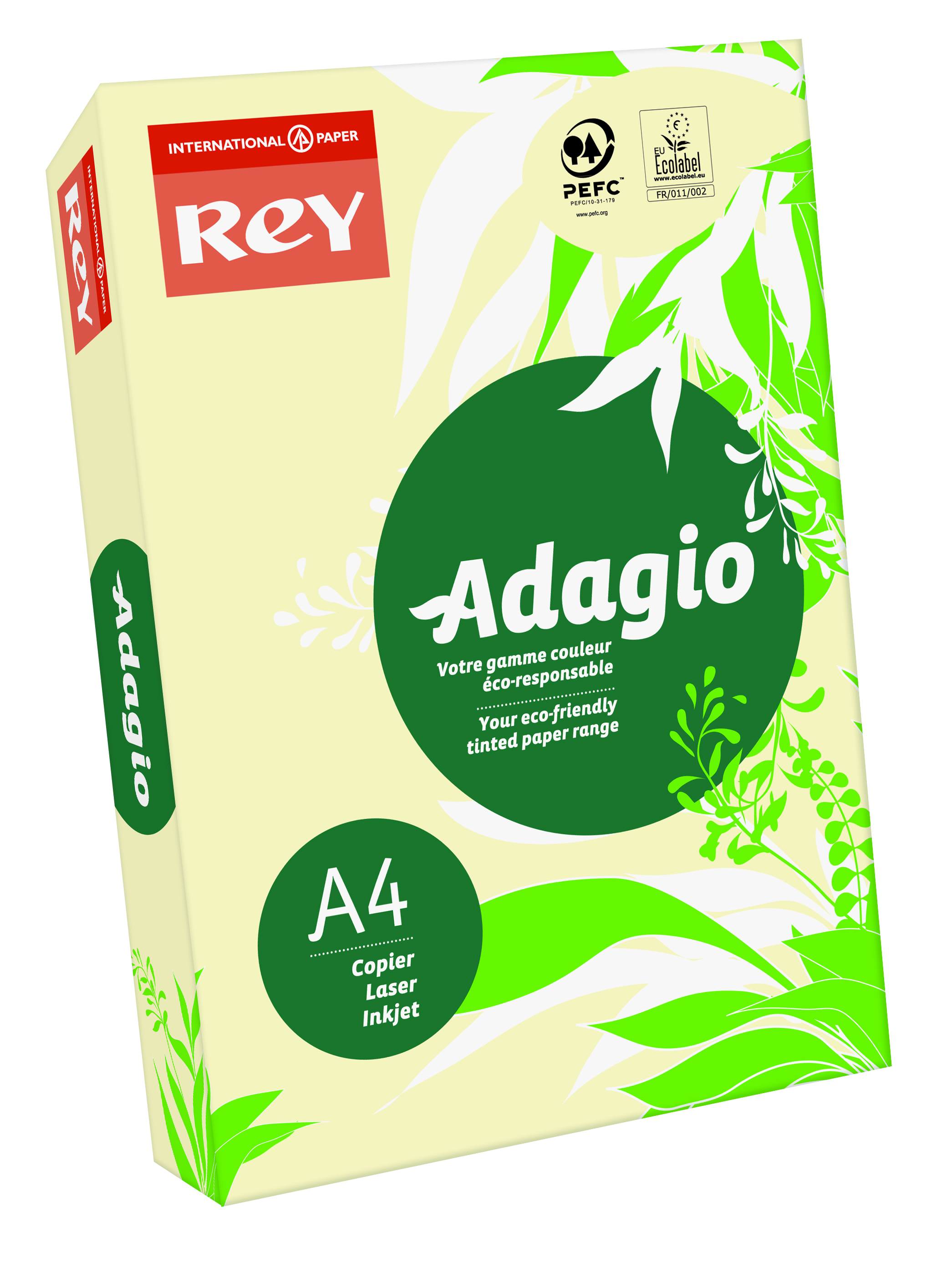 Rey Adagio A4 Paper 80gsm Ivory RM500