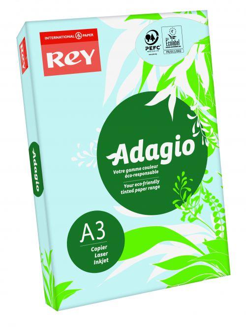 Rey Adagio A3 Paper 80gsm Blue RM500