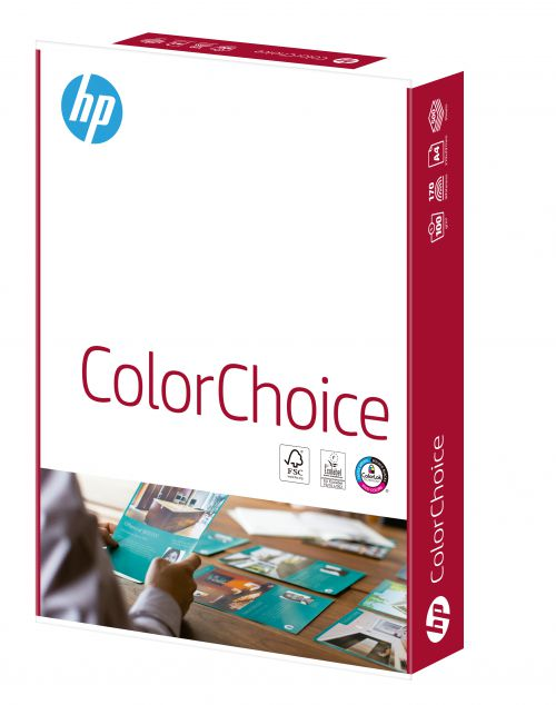 HP Color Choice FSC Paper A4 100gsm White (Ream 500)