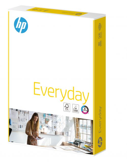 Hewlett Packard HP Everyday Paper Colorlok 5xPks FSC 75gsm A4 Wht Ref87931[2500Shts][REDEMPTION]Apr-May20