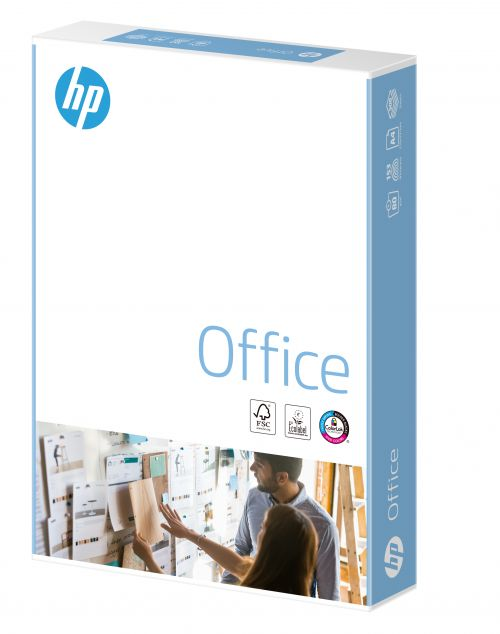 Hewlett Packard HP Office Paper Colorlok 5xPks FSC 80gsm A4 Wht Ref 93595[2500Shts][REDEMPTION]Apr-May20