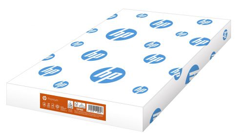 Hewlett Packard HP Premium Paper FSC Colorlok Ream-wrapped 80gsm A3 White Ref 93700 [500 Sheets]