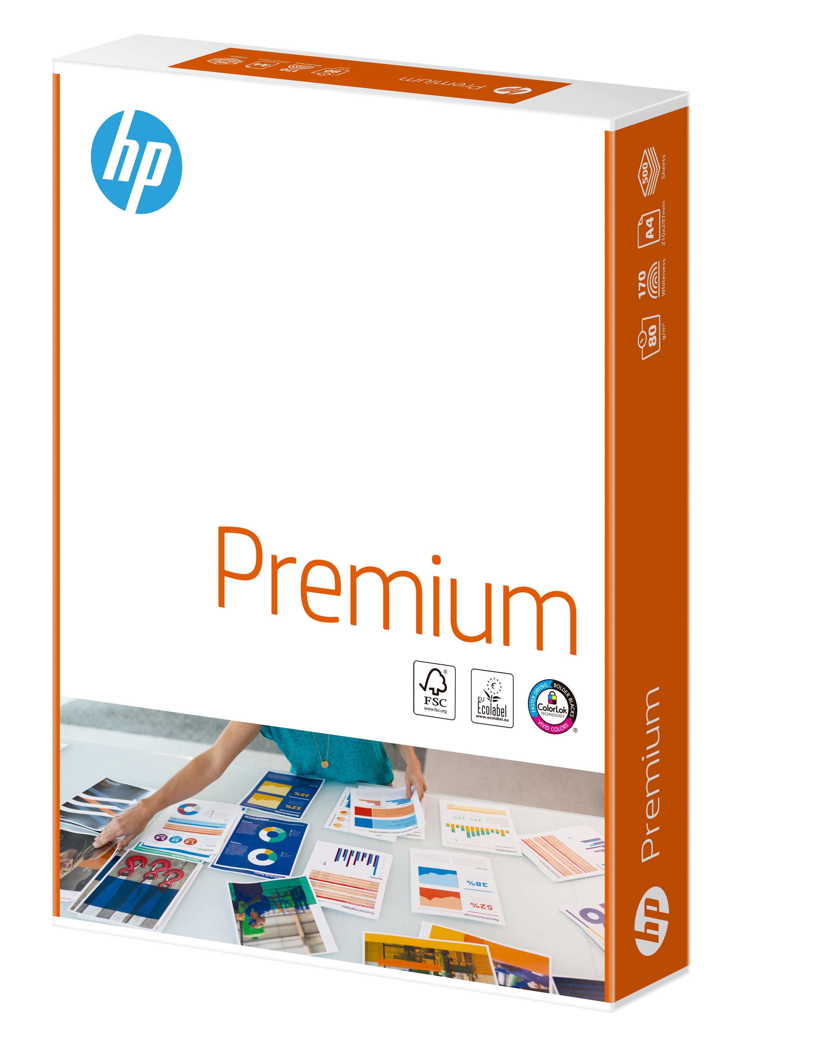 HP FSC Premium A4 80gm Ream 500