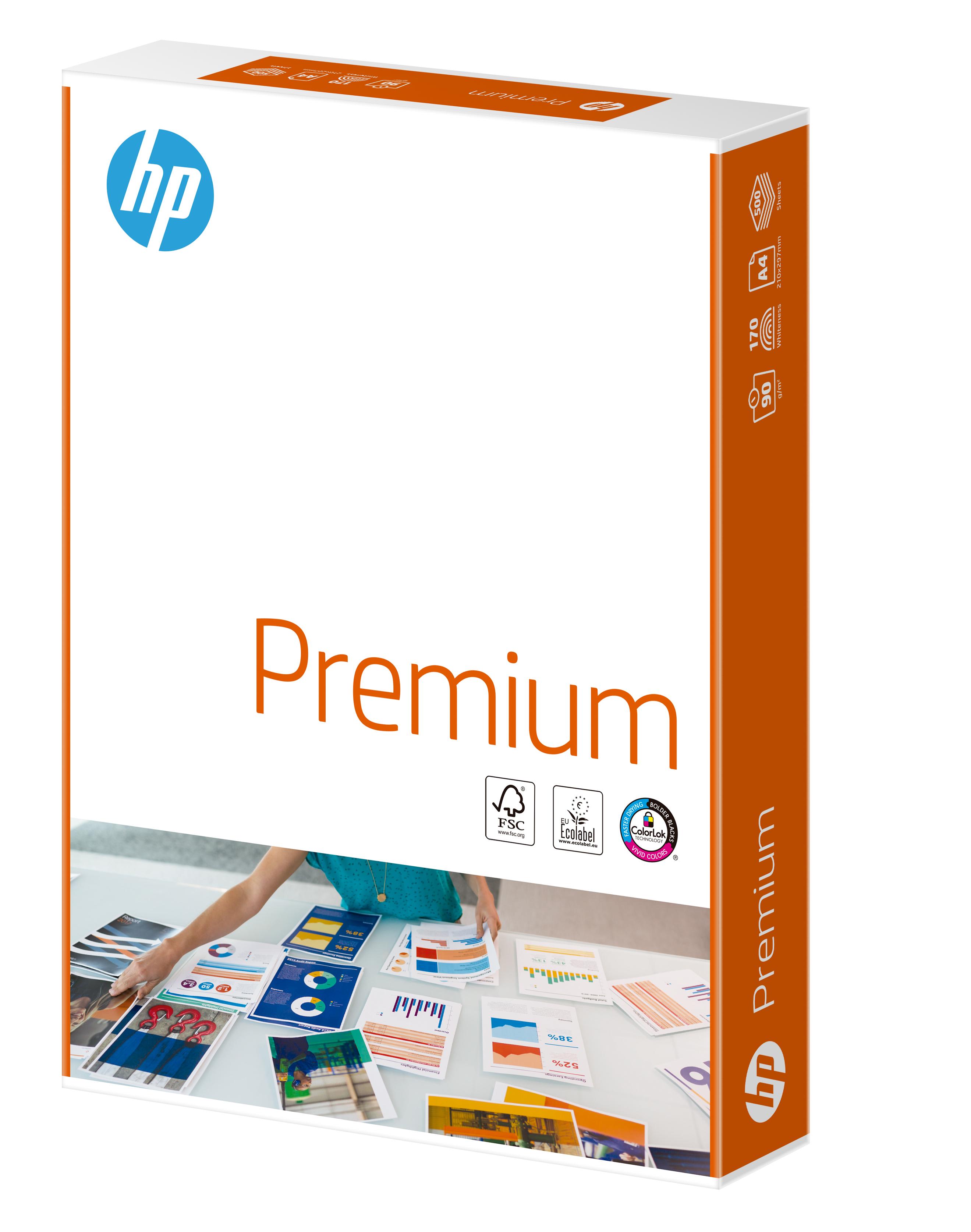 HP FSC Premium Paper A4 90gm PK500