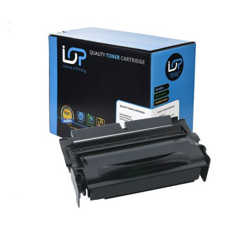 IOP Remanufactured Toner Cartridge for use in Lexmark T 430 / 12A8325 Mono 12000 pages