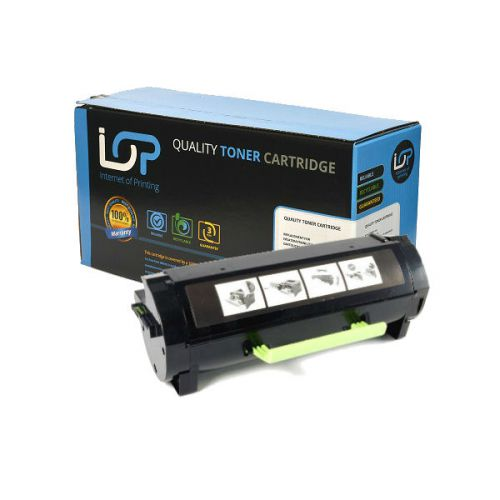 IOP Remanufactured Toner Cartridge for use in Lexmark MS 410 d / -510 dn / -610 de / 500XA / 502X Mono 10000 pages