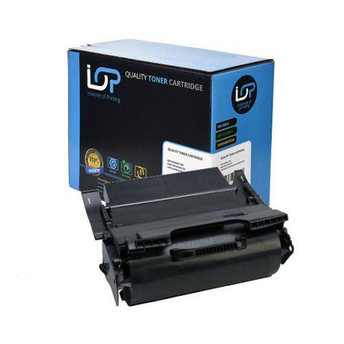 IOP Remanufactured Toner Cartridge for use in Lexmark X 654/656/658 de mfp / X654X21E / 654X11E Mono 36000 pages