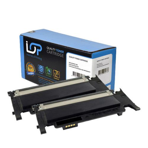 IOP Remanufactured Toner Cartridge for use in Samsung CLP-360/365/368/CLX-3300/3305 / CLTP406B / 2x Black 1500 pages