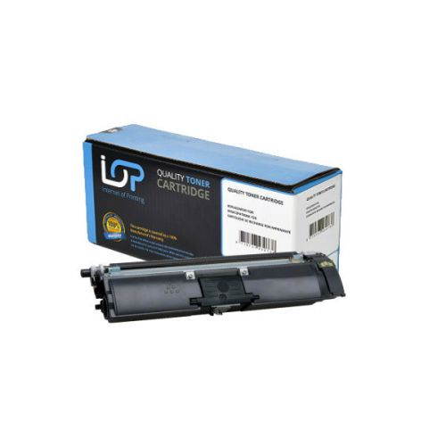 IOP Remanufactured Toner Cartridge for use in Minolta Magicolor C 1600 / -1650 / A0V301H Black 2500 pages
