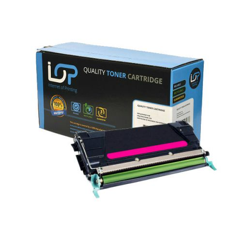 IOP Remanufactured Toner Cartridge for use in Lexmark C 522 / C5342MX Magenta 7000 pages