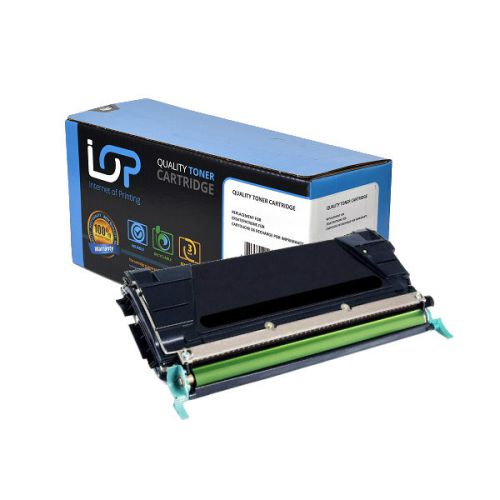 IOP Remanufactured Toner Cartridge for use in Lexmark C 734 / C734A2KG Black 8000 pages