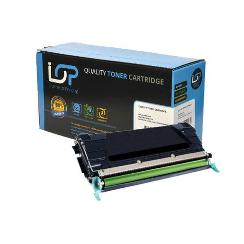 IOP Remanufactured Toner Cartridge for use in Lexmark C736 / X736 / X738 / C736H2KG Black 12000 pages