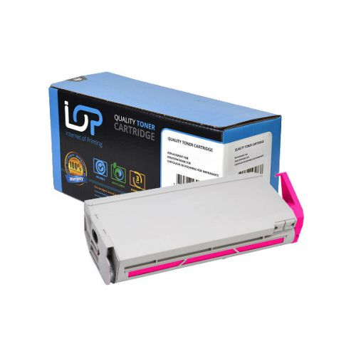IOP Remanufactured Toner Cartridge for use in Oki C 7300 / 41963006 Magenta 10000 pages