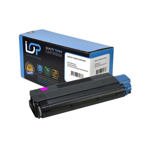 IOP Remanufactured Toner Cartridge for use in Oki C 5100 / 42127406 Magenta 5000 pages