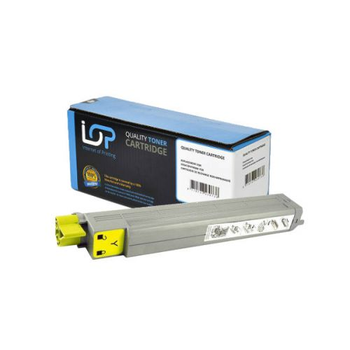IOP Remanufactured Toner Cartridge for use in Oki C 9600 / 42918913 Yellow 15000 pages