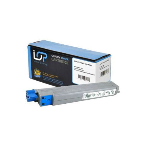 IOP Remanufactured Toner Cartridge for use in Oki C 9600 / 42918915 Cyan 15000 pages