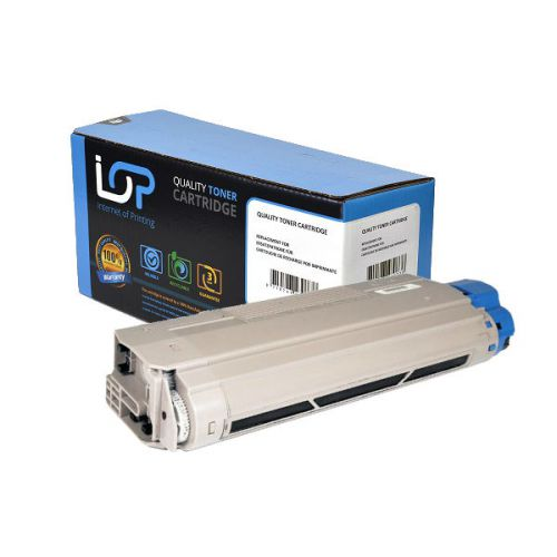 IOP Remanufactured Toner Cartridge for use in Oki C 5800 / 43324424 Black 6000 pages