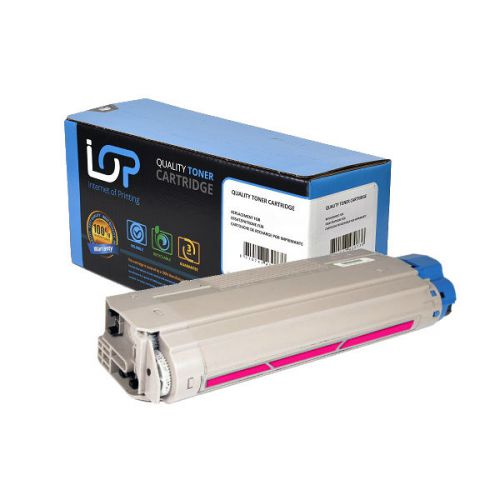 IOP Remanufactured Toner Cartridge for use in Oki C 5850 / 5950 / 43865722 Magenta 6000 pages