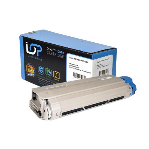 IOP Remanufactured Toner Cartridge for use in Oki C 5850 / 5950 / 43865724 Black 8000 pages