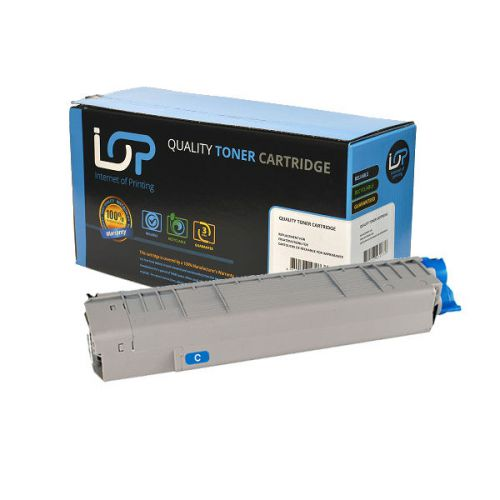 IOP Remanufactured Toner Cartridge for use in Oki MC 851 / 44059167 Cyan 7300 pages