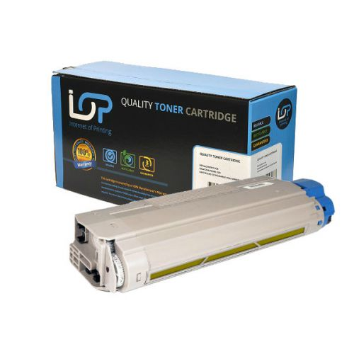 IOP Remanufactured Toner Cartridge for use in Oki MC 860 / 44059209 Yellow 10000 pages