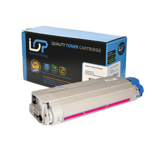 IOP Remanufactured Toner Cartridge for use in Oki MC 860 / 44059210 Magenta 10000 pages