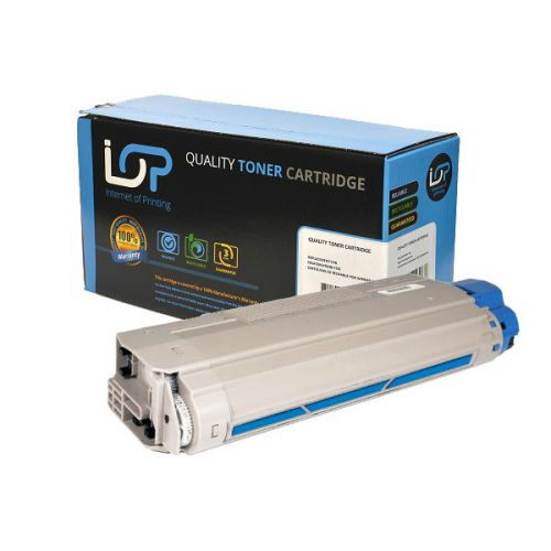 IOP Remanufactured Toner Cartridge for use in Oki MC 860 / 44059211 Cyan 10000 pages