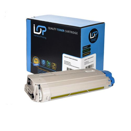 IOP Remanufactured Toner Cartridge for use in Oki ES 8460 / 44059229 Yellow 9000 pages