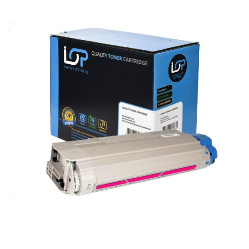 IOP Remanufactured Toner Cartridge for use in Oki ES 8460 / 44059230 Magenta 9000 pages